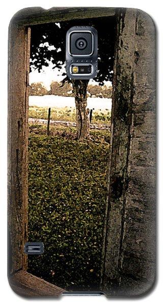 Tree In The Window Galaxy S5 Case