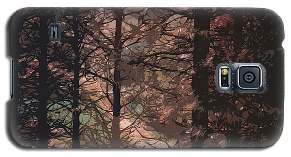 Tree Lights Galaxy S5 Case