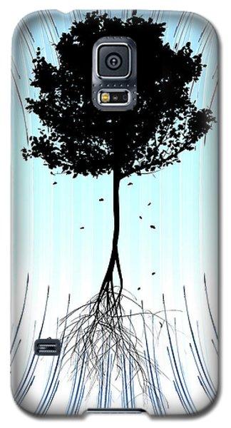 Tree Galaxy S5 Case by Matt Lindley