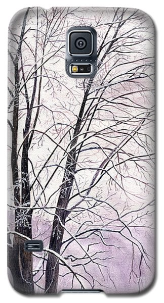 Galaxy S5 Case featuring the painting Tree Memories by Melly Terpening