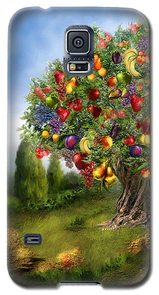 Tree Of Abundance Galaxy S5 Case by Carol Cavalaris