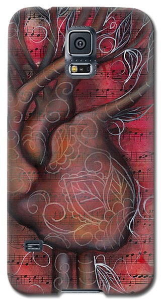 Tree Of Life Galaxy S5 Case by Abril Andrade Griffith