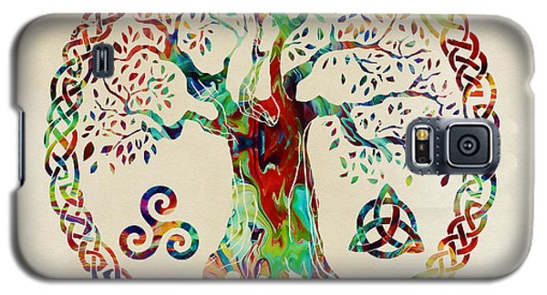 Tree Of Life Galaxy S5 Case by Olga Hamilton