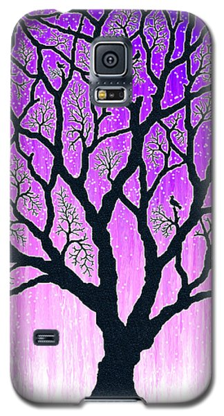 Galaxy S5 Case featuring the digital art Tree Of Light 2 by Cristophers Dream Artistry