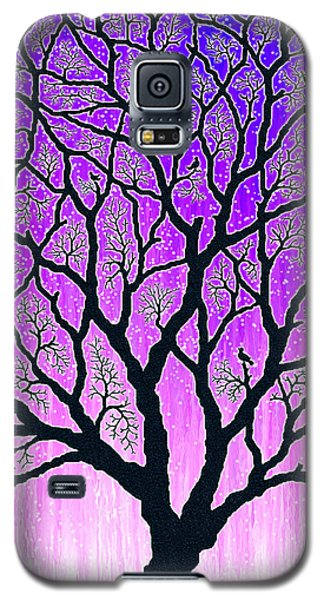 Galaxy S5 Case featuring the digital art Tree Of Light by Cristophers Dream Artistry