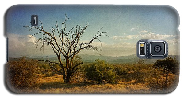 Tree On Caballo Trail Galaxy S5 Case by Marianne Jensen