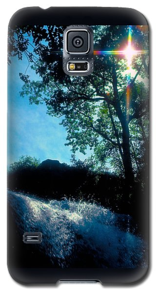 Tree Planted By Streams Of Water Galaxy S5 Case by Marie Hicks