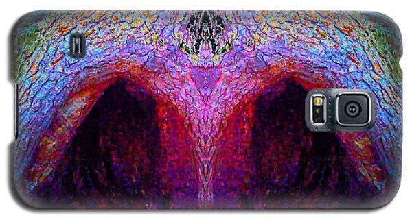 Tree Temple Galaxy S5 Case by Karen Newell
