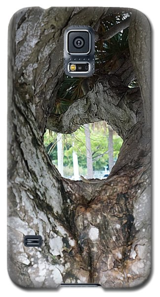 Galaxy S5 Case featuring the photograph Tree View by Rafael Salazar