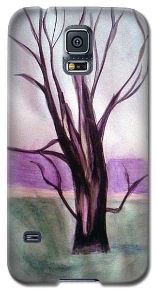 Tree Watercolor Galaxy S5 Case