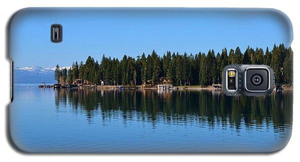 Treeline Lake Tahoe Galaxy S5 Case