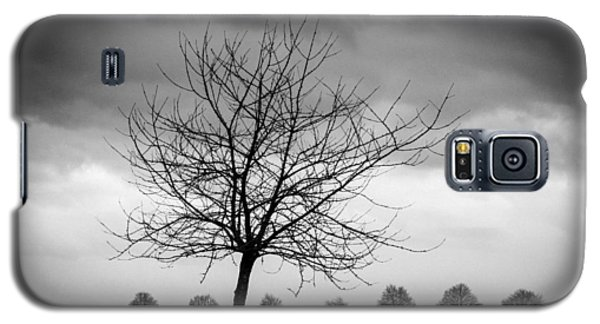 Trees Black And White Galaxy S5 Case