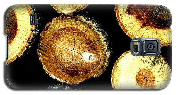 Galaxy S5 Case featuring the photograph Trees End by Amy Sorrell