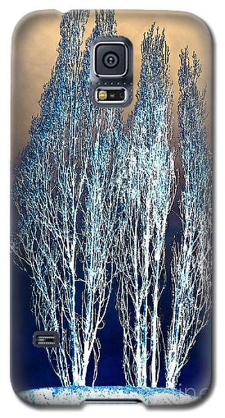 Trees In Snow Galaxy S5 Case