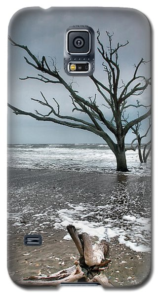 Trees In Surf Galaxy S5 Case