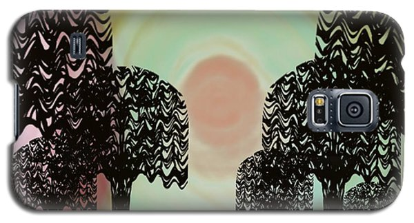 Trees Of Light Galaxy S5 Case by Christine Fournier