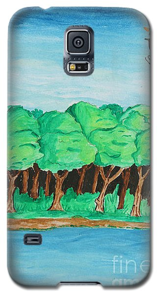 Trees She Galaxy S5 Case