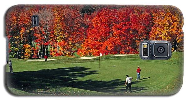 Treetops Golf Galaxy S5 Case by Dennis Cox WorldViews