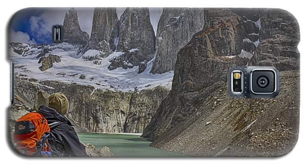 Galaxy S5 Case featuring the photograph Trek To Torres Del Paine by Gary Hall