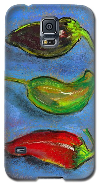 Tres Peppers Galaxy S5 Case by Julie Maas