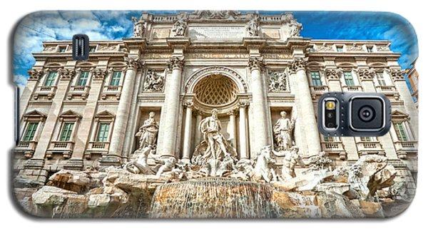 Trevi Fountain - Rome Galaxy S5 Case by Luciano Mortula