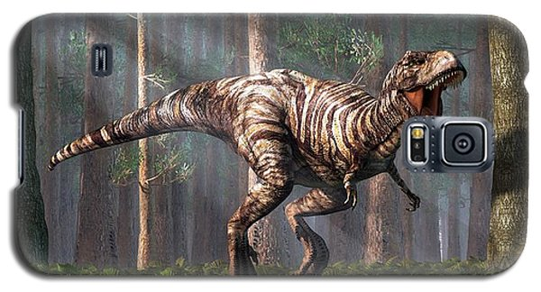 Trex In The Forest Galaxy S5 Case