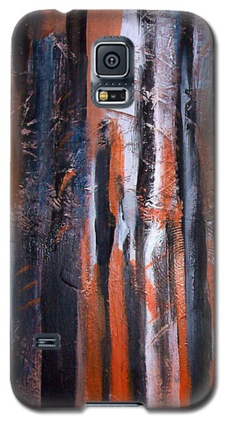 Galaxy S5 Case featuring the painting Tribal 2 by Yul Olaivar