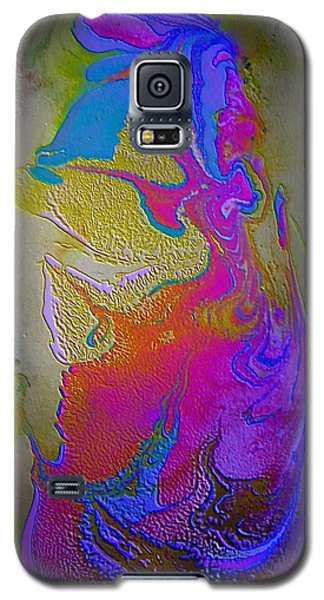 Galaxy S5 Case featuring the painting Tribal Princess by Mike Breau