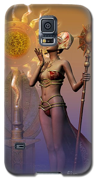Tribal Time Keeper Galaxy S5 Case