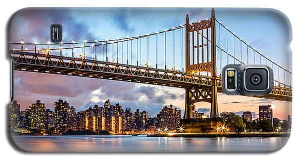 Triboro Bridge At Dusk Galaxy S5 Case