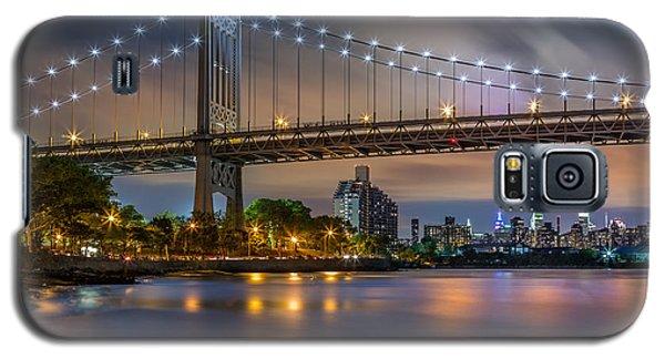 Galaxy S5 Case featuring the photograph Triboro Bridge by Mihai Andritoiu