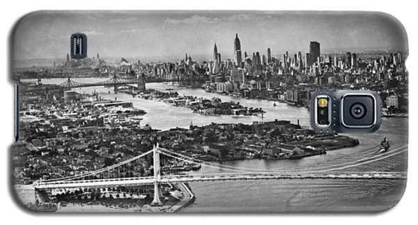 Triborough Bridge Is Completed Galaxy S5 Case by Underwood Archives