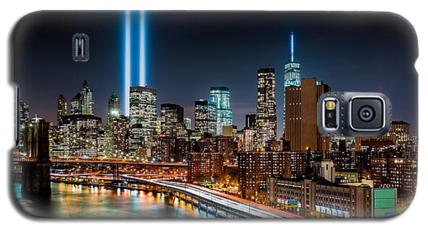 Tribute In Light Memorial Galaxy S5 Case