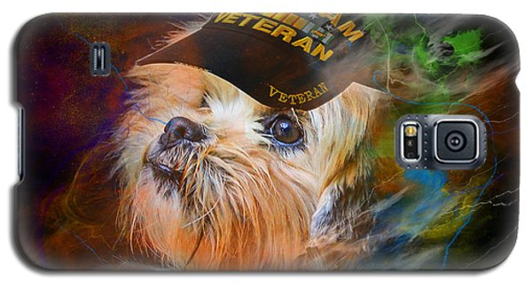 Tribute To Canine Veterans Galaxy S5 Case