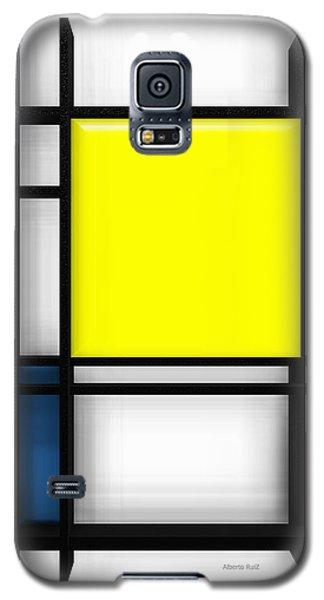 tribute to Mondrian 1 Galaxy S5 Case