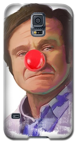 Tribute To Robin Williams Galaxy S5 Case