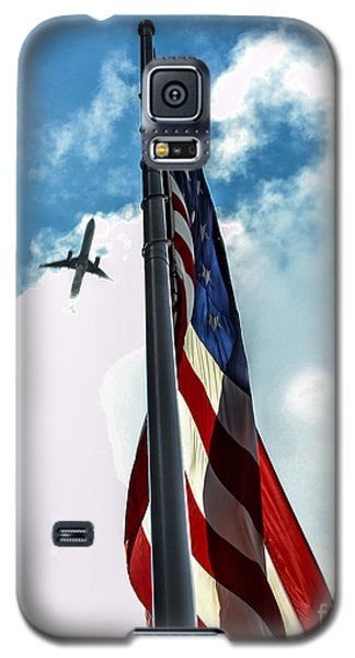Tribute To The Day America Stood Still Galaxy S5 Case