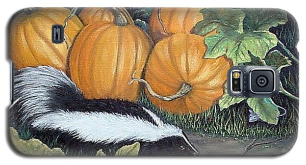 Galaxy S5 Case featuring the painting Trick Or Treat by Fran Brooks