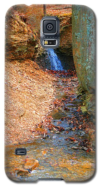 Trickling Waterfall By Shellhammer Galaxy S5 Case