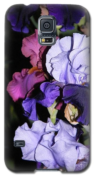 Tricolor Night Blossoms Galaxy S5 Case