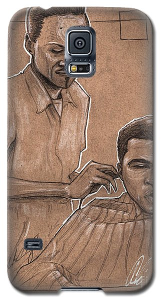 Boxing Muhammad Ali Galaxy S5 Case - Trim The Lion by Shop Aethetiks