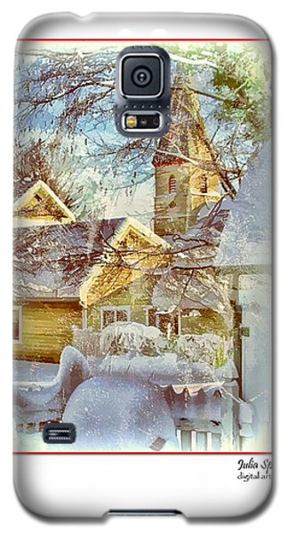 Trinity Episcopal Church In The Snow - Shepherdstown  Galaxy S5 Case