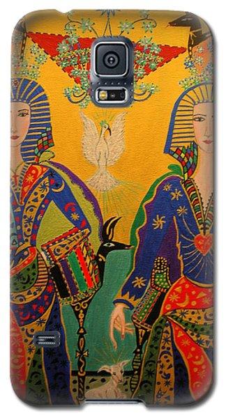 Trinity Galaxy S5 Case by Marie Schwarzer