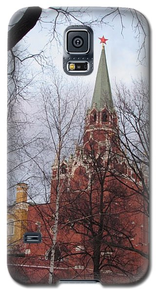 Trinity Tower At Dusk Galaxy S5 Case by Anna Yurasovsky