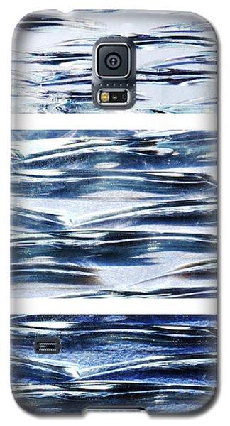 Trio In Blue Galaxy S5 Case by Wendy Wilton