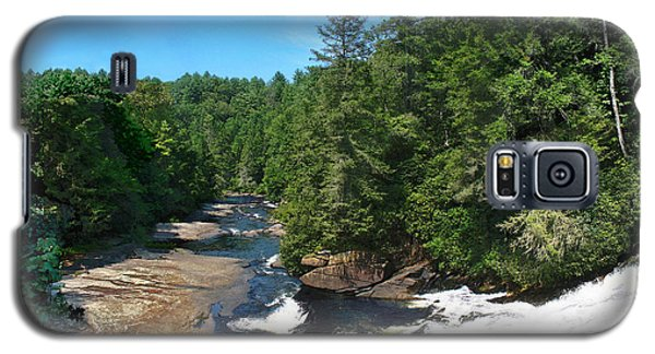 Triple Falls North Carolina Galaxy S5 Case