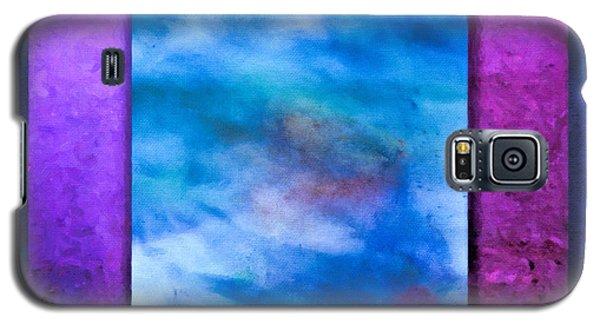 Triple Purple Galaxy S5 Case