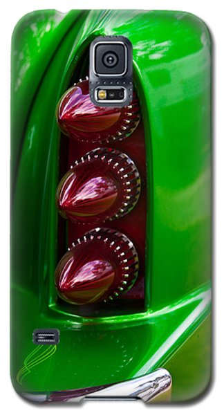 Galaxy S5 Case featuring the photograph Triple Vertical Tail Lights by Mick Flynn