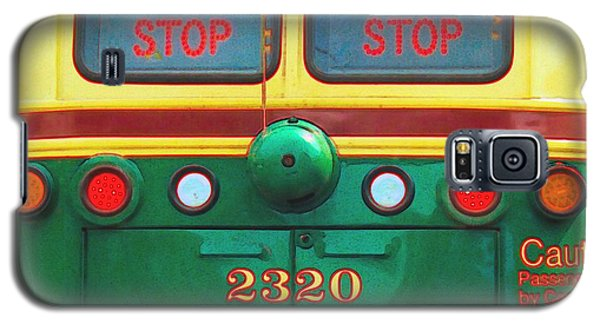Trolley Car - Digital Art Galaxy S5 Case by Robyn King