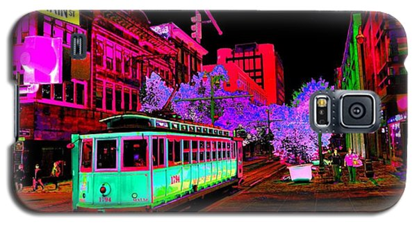 Trolley Night Digital  Galaxy S5 Case